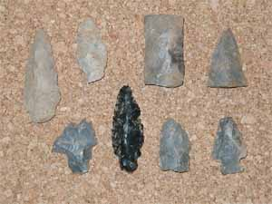 Indian Arrowheads for Sale.